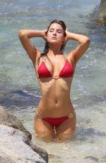 AMANDA CERNY in Bikini at a Photoshoot in Aruba