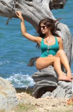 AMANDA CERNY in Swimsuit at a Photoshoot in Aruba