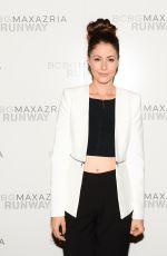 AMANDA CREW at Bcbgmaxazria Fashion Show in New York