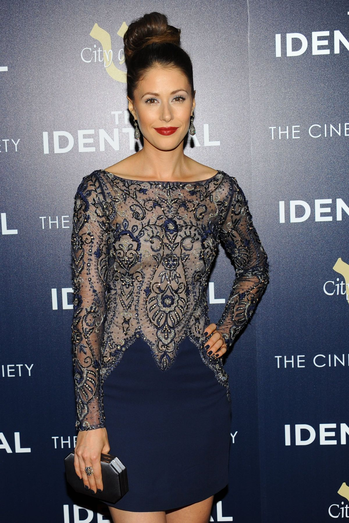 AMANDA CREW at The Identical Premiere in New York