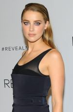 AMBER HEARD at Reveal Calvin Klein Fragrance Launch in New York