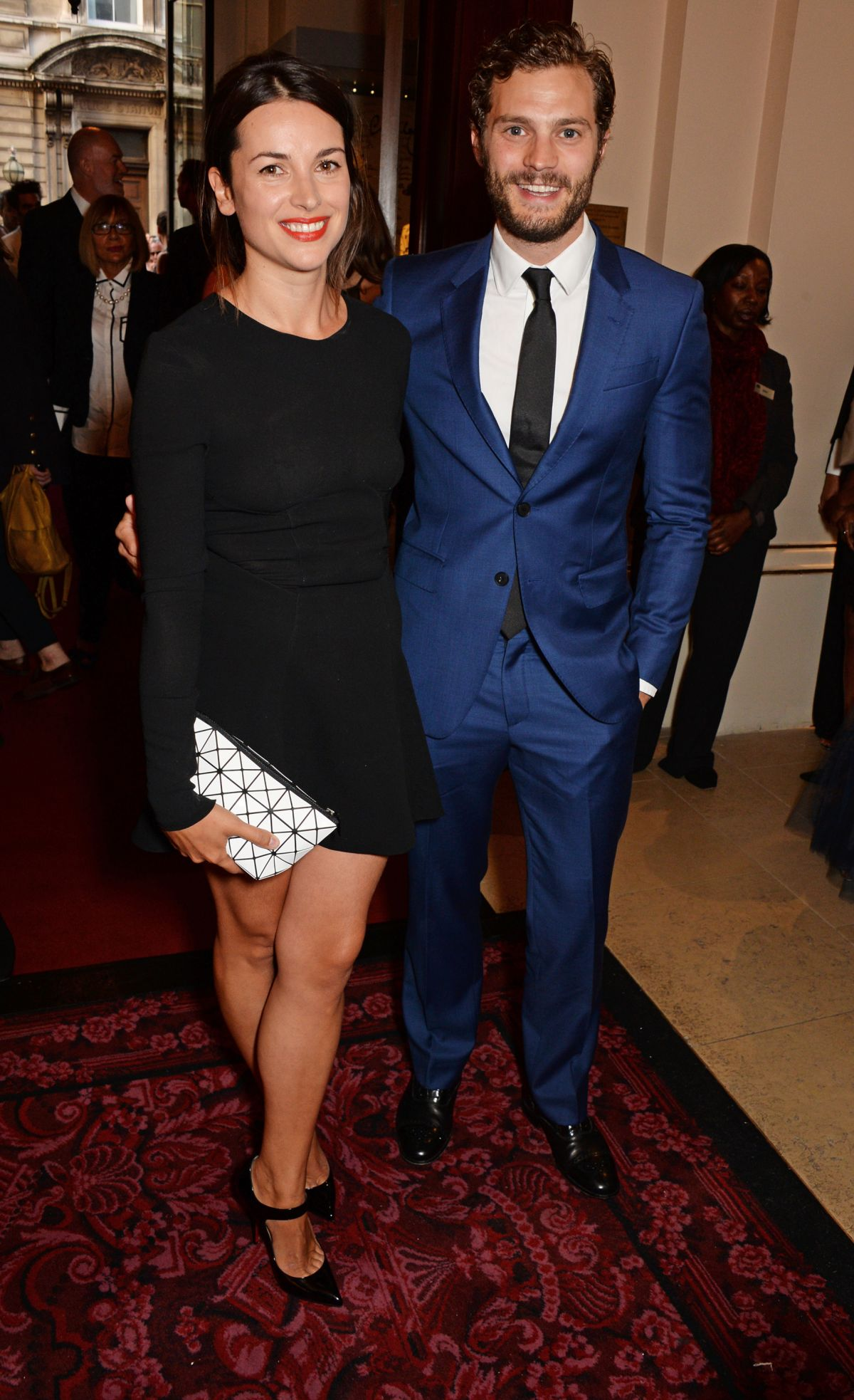 AMELIA WARNER at 2014 GQ Men of the Year Awards in London
