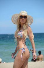 ANA BRAGA in Bikini at a Beach in Miami