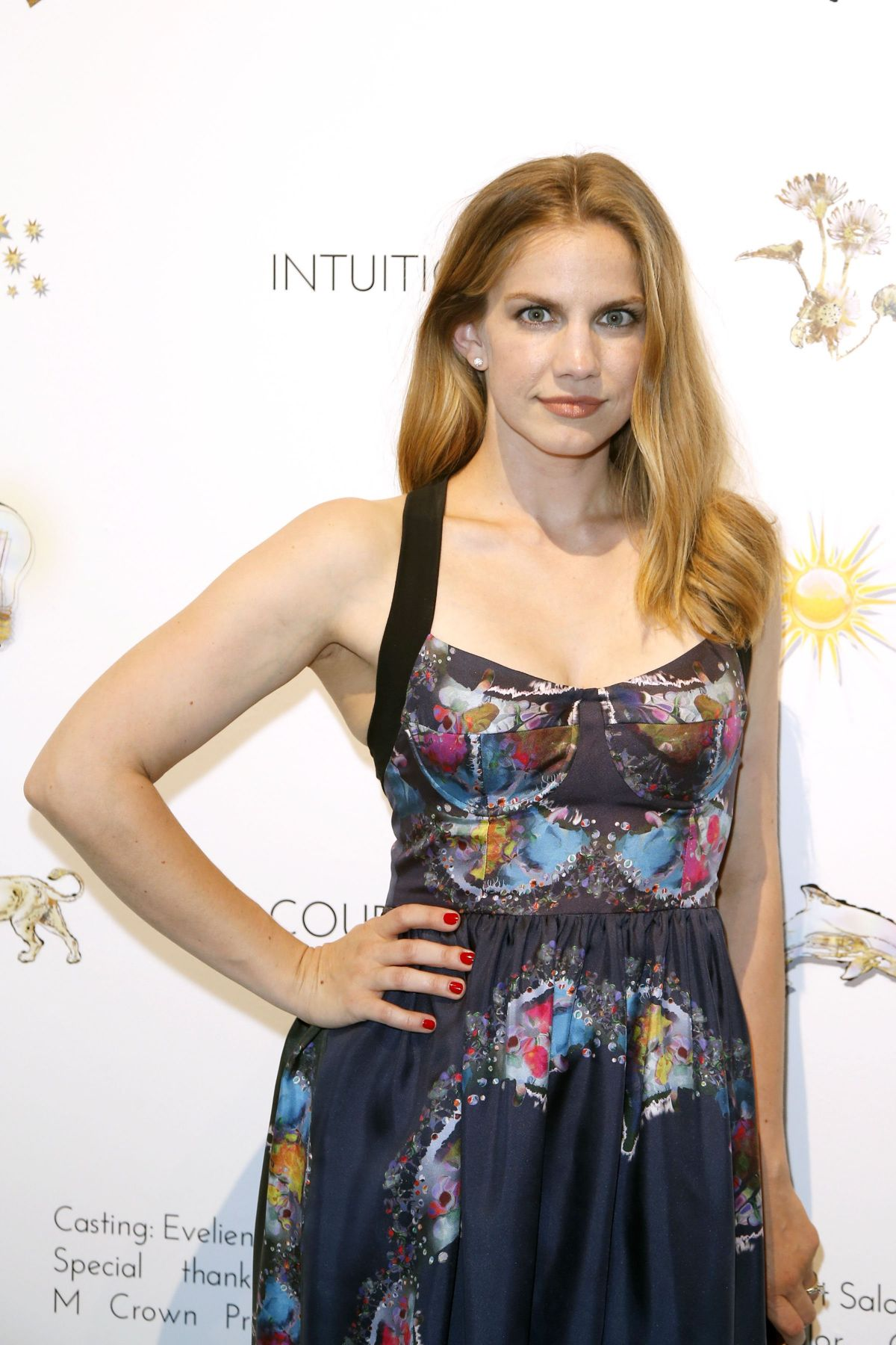 ANNA CHLUMSKY at Cnthia Rowley Fashion Show in New York
