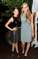 ANNA KENDRICK at Nikki Beach Pop-up Lounge at Toronto International Film Festival