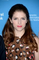 ANNA KENDRICK at The Imitation Game Press Conference in Toronto