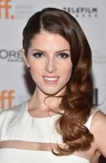ANNA KENDRICK at The Last Five Years Premiere in Toronto