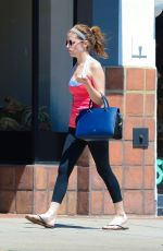 ANNA KENDRICK in Tights Out in West Hollywood
