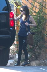 ANNA KENDRICK Leaves Her House in Los Angeles