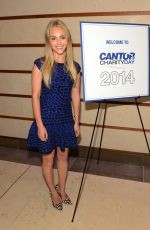 ANNASOPHIA ROBB at Charity Day Hosted by Cantor Fitzgerald and BGC in New York