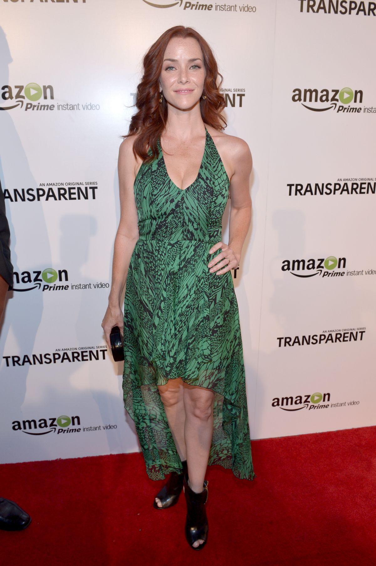 ANNIE WERSCHING at Transparent Premiere in Los Angeles