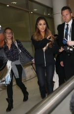 ARIANA GRANDE Arrives at Airport in Sydney