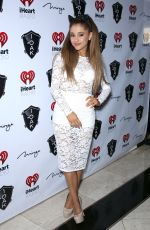 ARIANA GRANDE at Iheart Radio Music Festival After-party at 1 Oak Nightclub