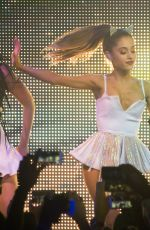 ARIANA GRANDE Performs at BPM Nightclub in New York