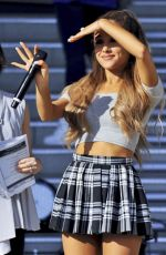 ARIANA GRANDE Promotes Her New Album My Everything in Tokyo