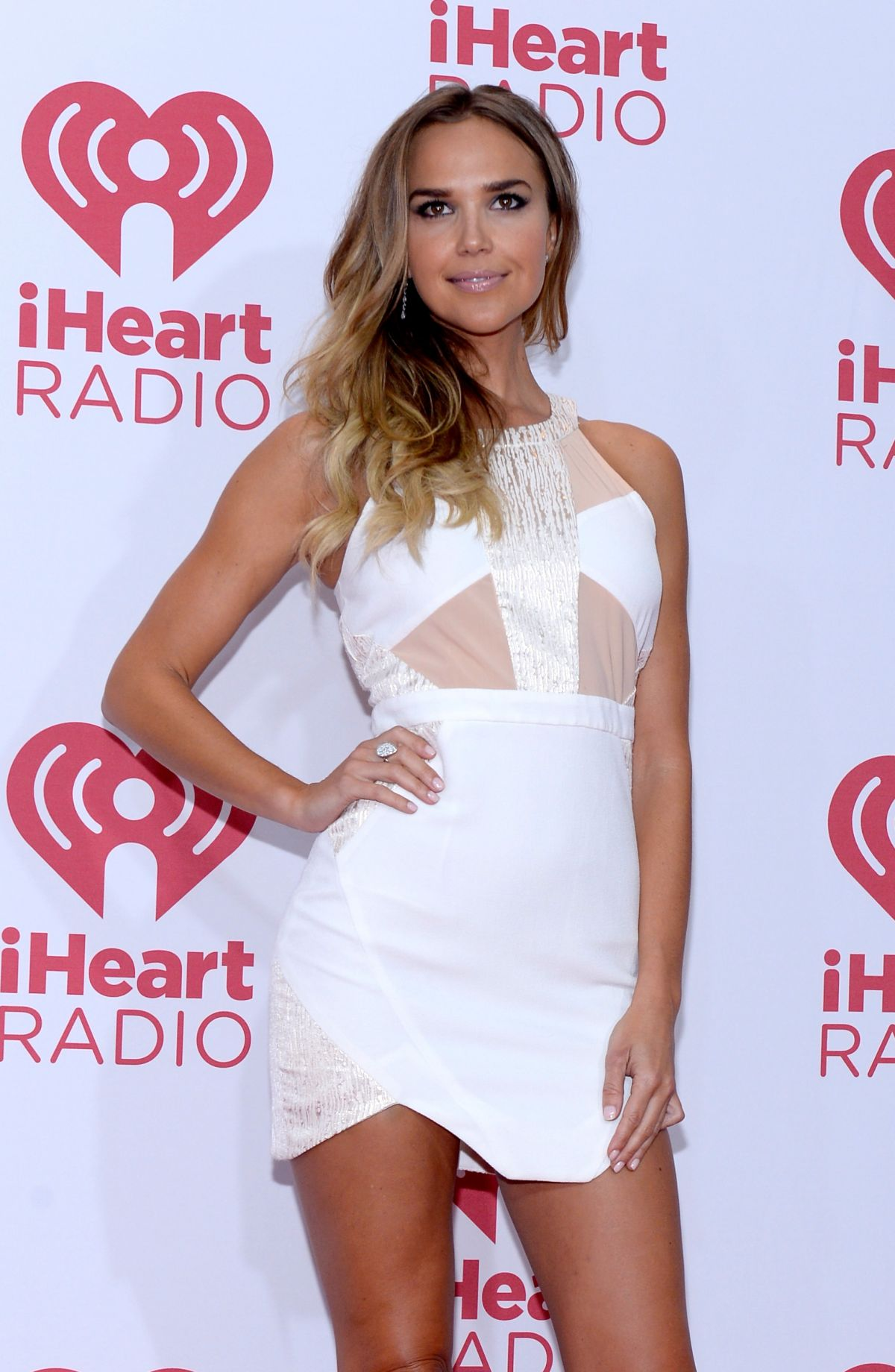 ARIELLE KEBBEL at 2014 Iheartmusic Festival in Las Vegas