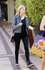 ASHLEY BENSON Out and About in Los Angeles 0709