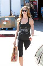 ASHLEY GREENE Arrives at a Gym in Los Angeles 2309