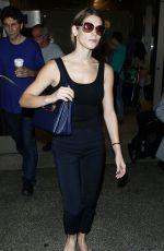 ASHLEY GREENE Arrivies at Los Angeles International Airport