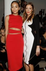 ASHLEY MADEKWE and KATIE CASSIDY at Cushnie Et Ochs Fashion Show in New York