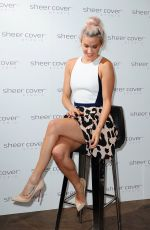 ASHLEY ROBERTS at a Sheer Cover Studio Event in London