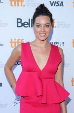 AUBREY PLAZA at Ned Rifle Premiere in Toronto