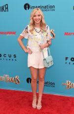AUDREY WHITBY at The Boxtrolls Premiere in Hollywood