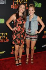 AUDREY WHITNY at Star Wars Rebels Premiere in Century City