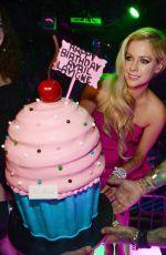 AVRIL LAVIGNE Celebrates Her 30th Birthday in Las Vegas