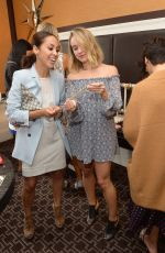 BECCA TOBIN at NYFW Fashion & Beauty Style Stop