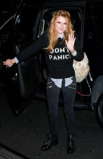 BELLA THORNE Arrives at Her Hotel in New York 1109