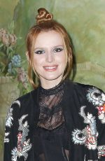 BELLA THORNE at Alice+Olivia by Stacey Bendet Fashion Show in New York