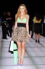 BELLA THORNE at Fausto Puglisi Fashion Show in Milan