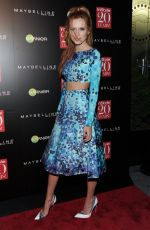 BELLA THORNE at Instyle 20th Anniversary Party in New York