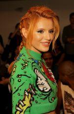 BELLA THORNE at Jeremy Scott Fashion Show in New York