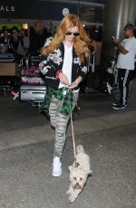 BELLA THORNE at Los Angeles International Airport 2109