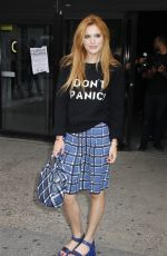 BELLA THORNE at Marc Jacobs Fashion Show in New York