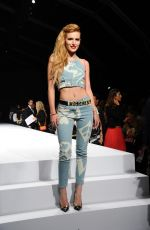 BELLA THORNE at Runway of Moschino Fashion Show in Milan