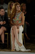 BELLA THORNE at Sherri Hill Fashion Show in New York
