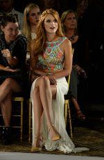 BELLA THORNE at Sherri Hill Fashion Show in New York