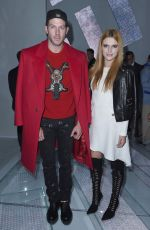 BELLA THORNE at Versace Fashion Show in Milan