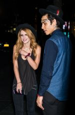 BELLA THORNE Night Out in New York