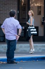 BELLA THORNE on a Set of Photoshoot in Los Angeles