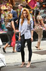 BELLA THORNE Out and About in New York 1209