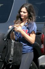 BETHANY MOTA Arrives at DWTS Rehearsal in Los Angeles
