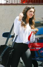 BETHANY MOTA leaves DWTS Rehearsal in Los Angeles