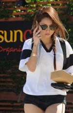 BRENDA SONG in Shorts Out and About in Los Angeles