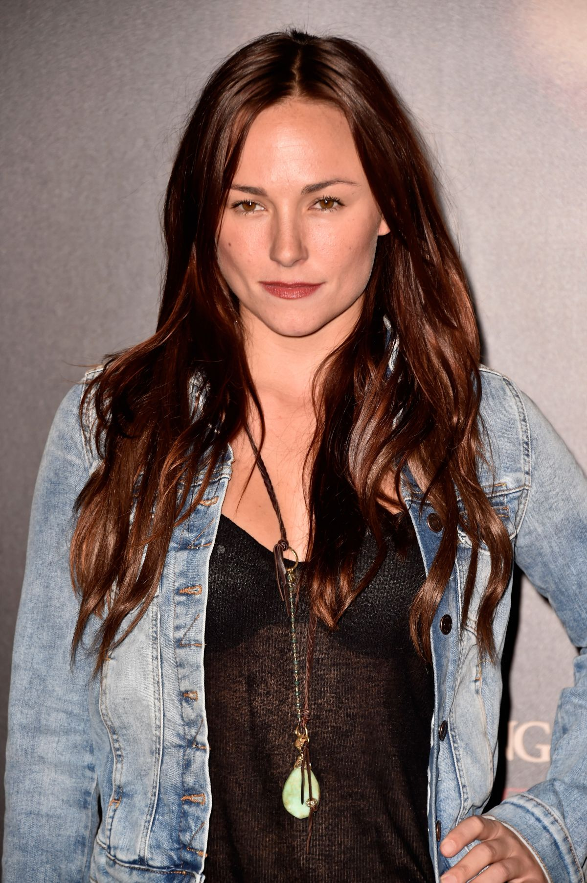 BRIANA EVIGAN at Annabelle Screening in Hollywood