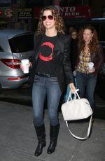 BRIDGET MOYNAHAN Arrives at NBC Studios in New York