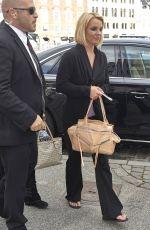 BRITNEY SPEARS Arrives in Denmark